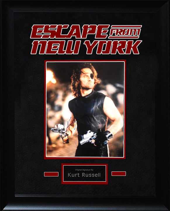 Escape from New York – Kurt Russell Signed Photo