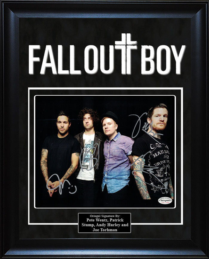 """Fall Out Boy"" - Signed 8x10 Photo"