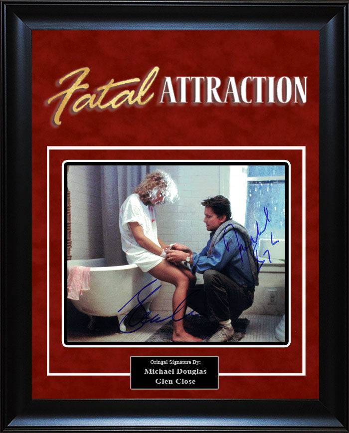 """Fatal Attraction"" - Cast Signed 8x10 Photo"