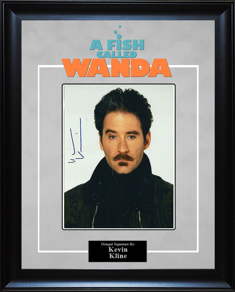"""A Fish Called Wanda"" - Kevin Kline Signed 8x10 Photo"