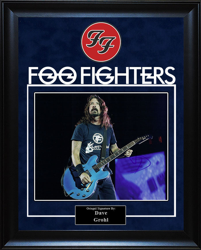 """Foo Fighter"" - Dave Grohl Signed 8x10 Photo"