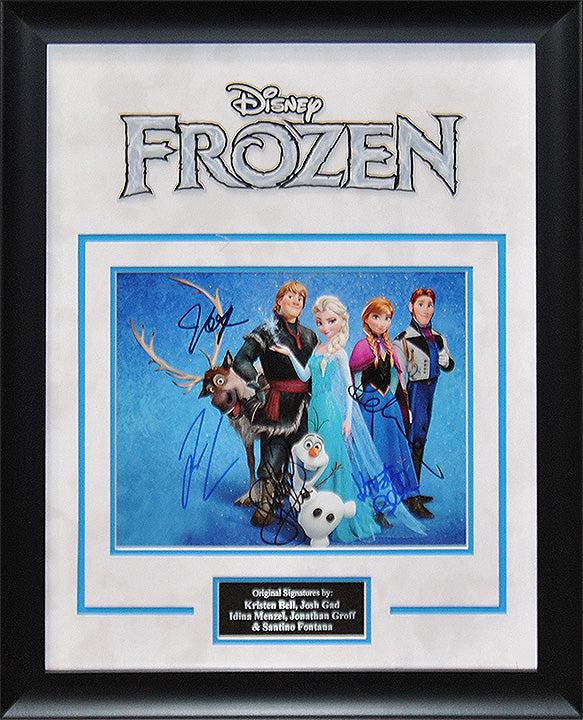 """Frozen"" - Cast Signed 8x10 Photo"