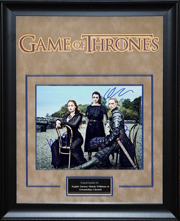 """Game Of Thrones"" - Cast Signed 8x10 Photo"
