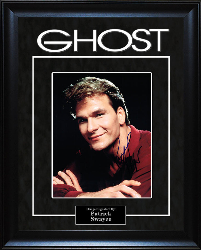 """Ghost"" - Patrick Swayze Signed 8x10 Photo"