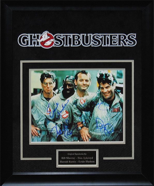 """Ghostbusters"" - Cast Signed 8x10 Photo"
