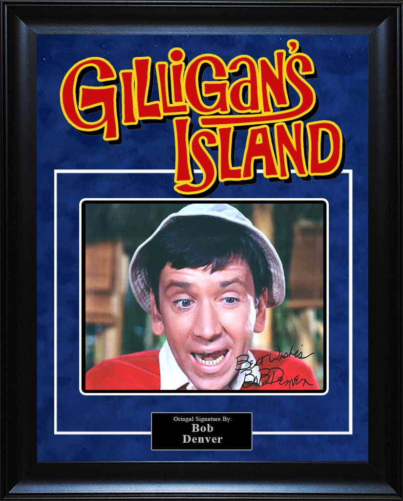 """Gilligan's Island"" - Bob Denver Signed 8x10 Photo"