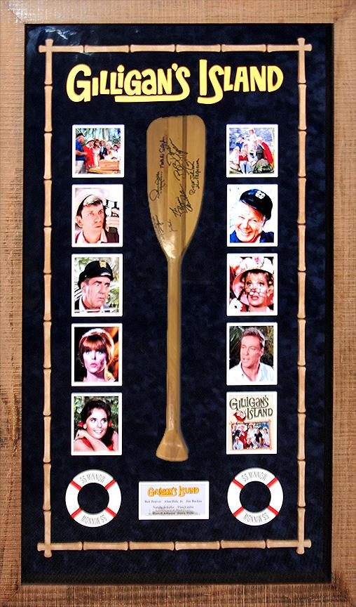 """Gilligan's Island"" Cast Signed Oar"