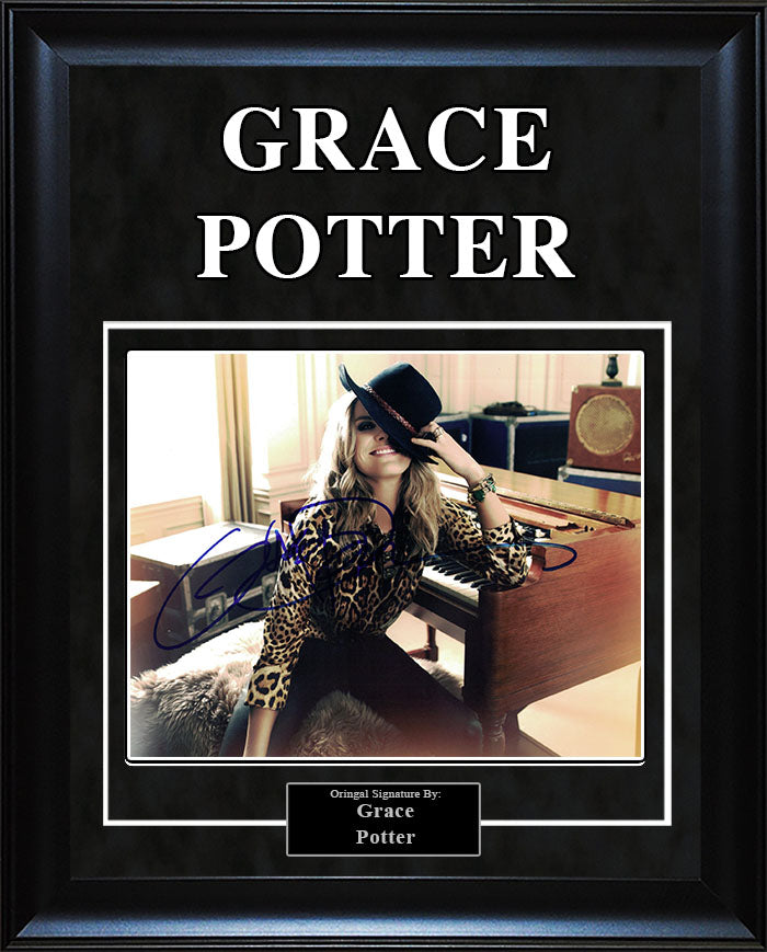Grace Potter - Signed 8x10 Photo