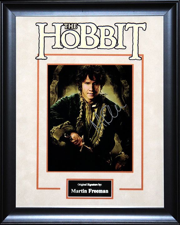 """The Hobbit: The Desolation of Smaug"" - Martin Freeman Signed 8x10 Photo"