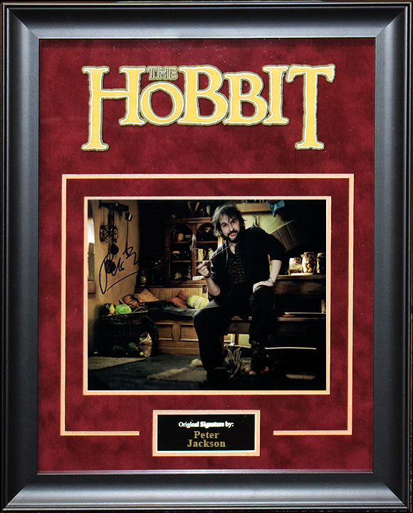 """The Hobbit"" - Peter Jackson Signed 8x10 Photo"