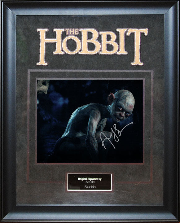 """The Hobbit"" - Andy Serkis Signed 8x10 Photo"