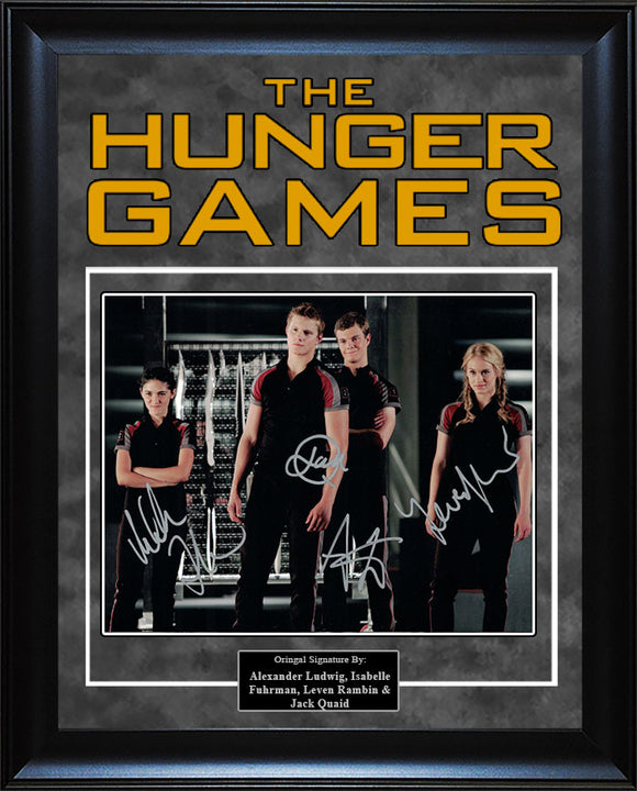 """Hunger Games"" - Cast Signed 8x10 Photo"