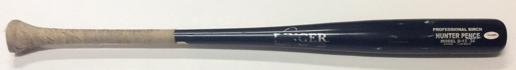 San Francisco Giants - Hunter Pence game used (Dinger) baseball bat