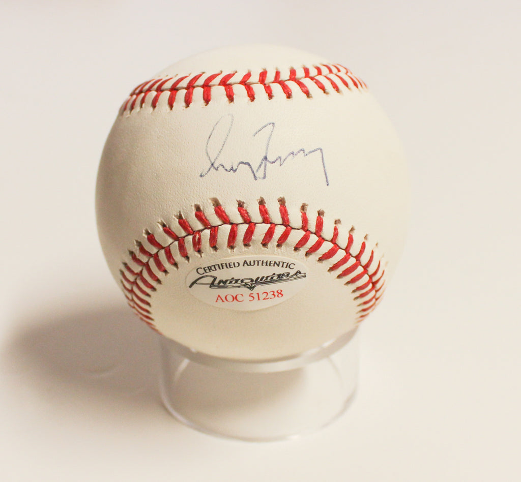 Atlanta Braves - Greg Maddux signed baseball