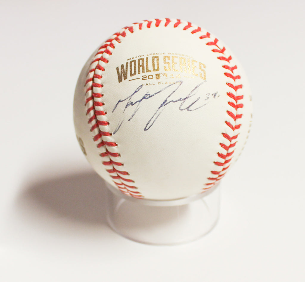 San Francisco Giant's - Michael Morse signed baseball