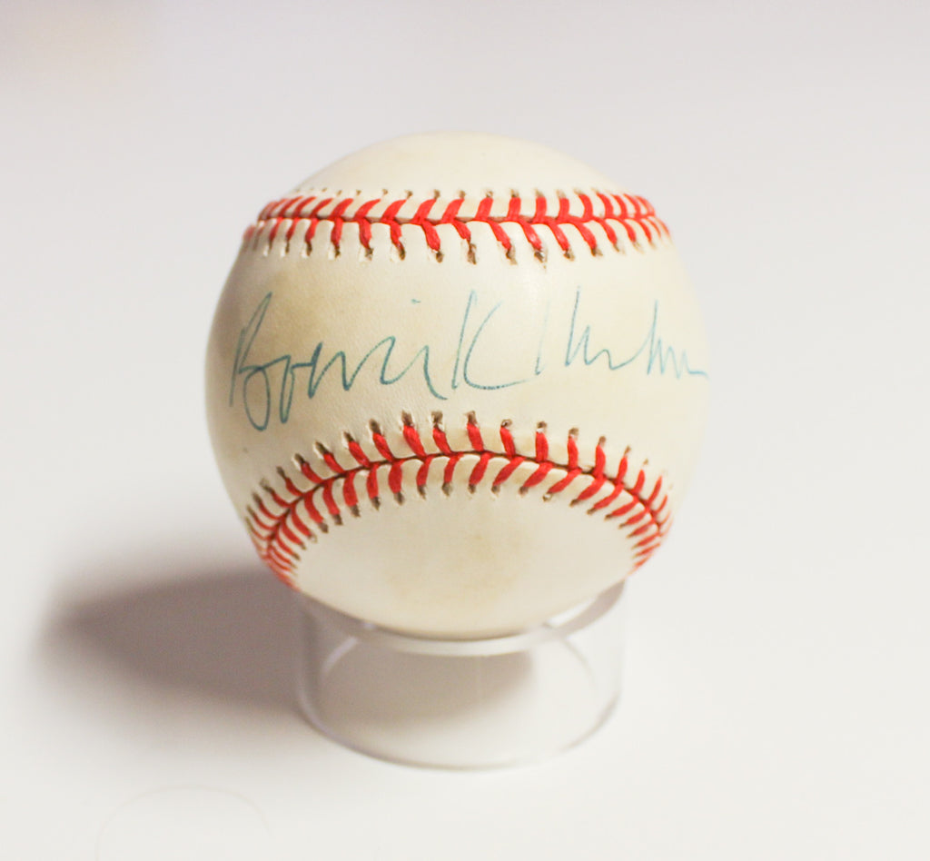 MLB Commisioners signed baseball