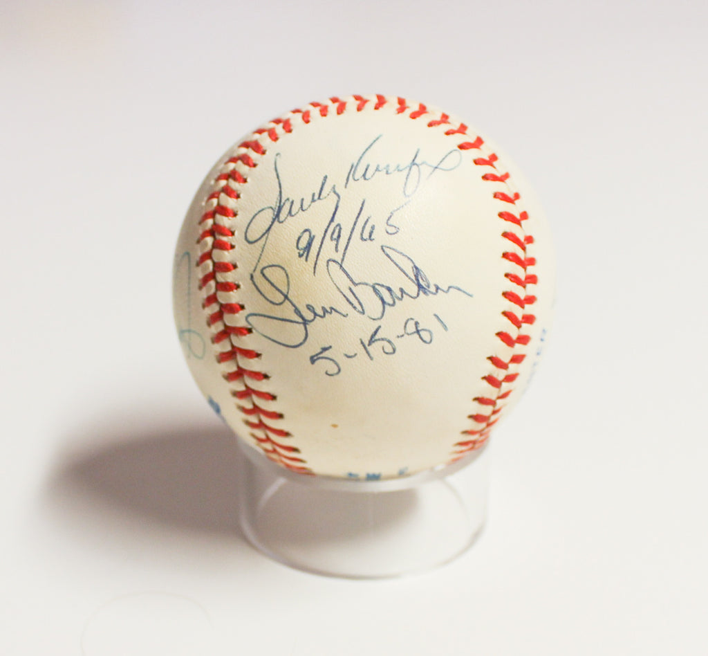 Perfect Game Signed Baseball