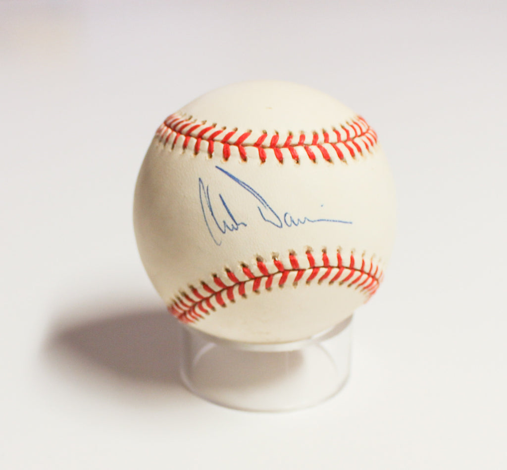New York Yankees - Chili Davis signed baseball