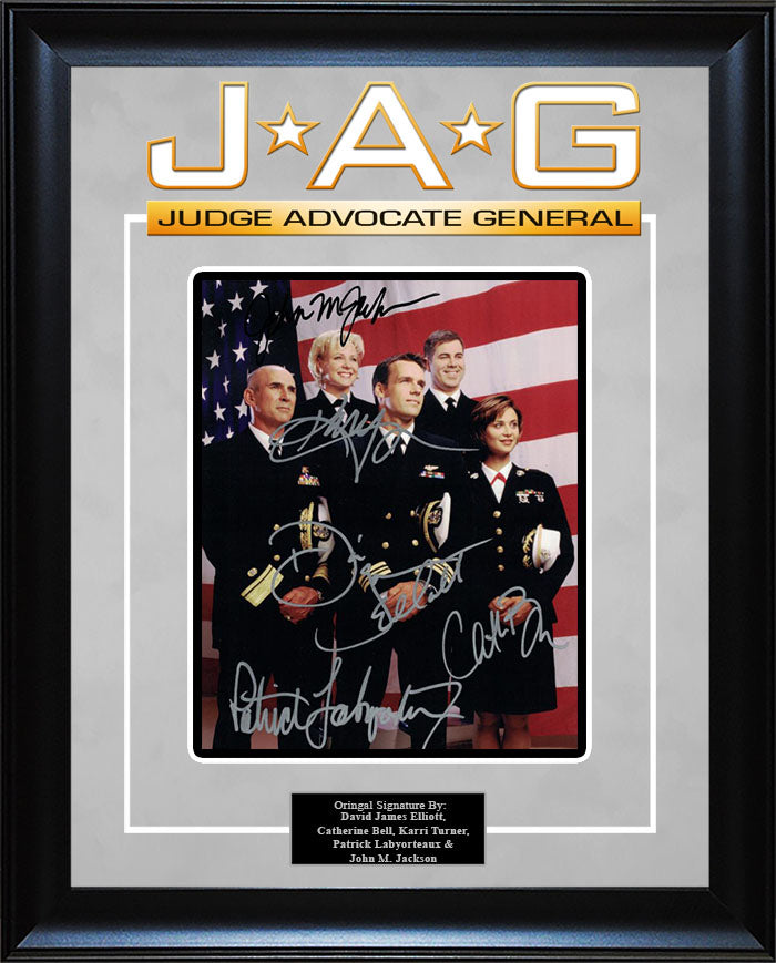 """JAG"" - Cast Signed 8x10 Photo"