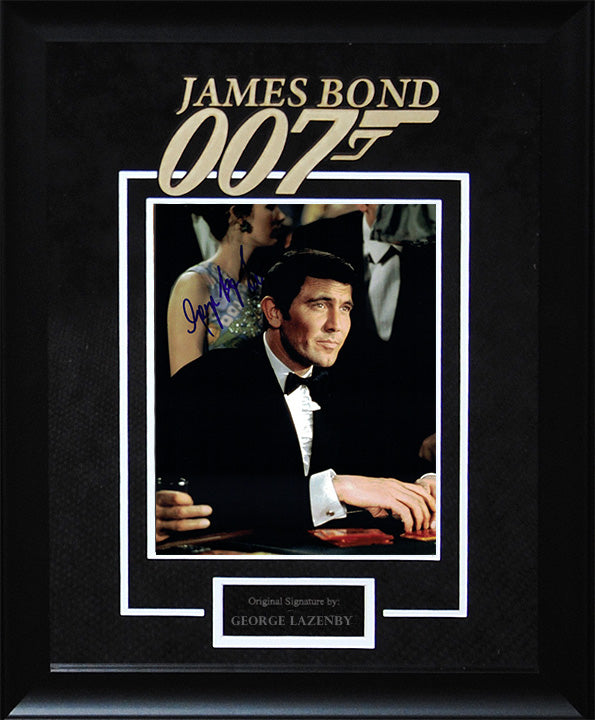 """James Bond"" - George Lazenby Signed 8x10 Photo"