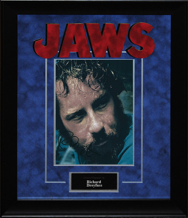 """Jaws"" - Richard Dreyfuss Signed 8x10 Photo"