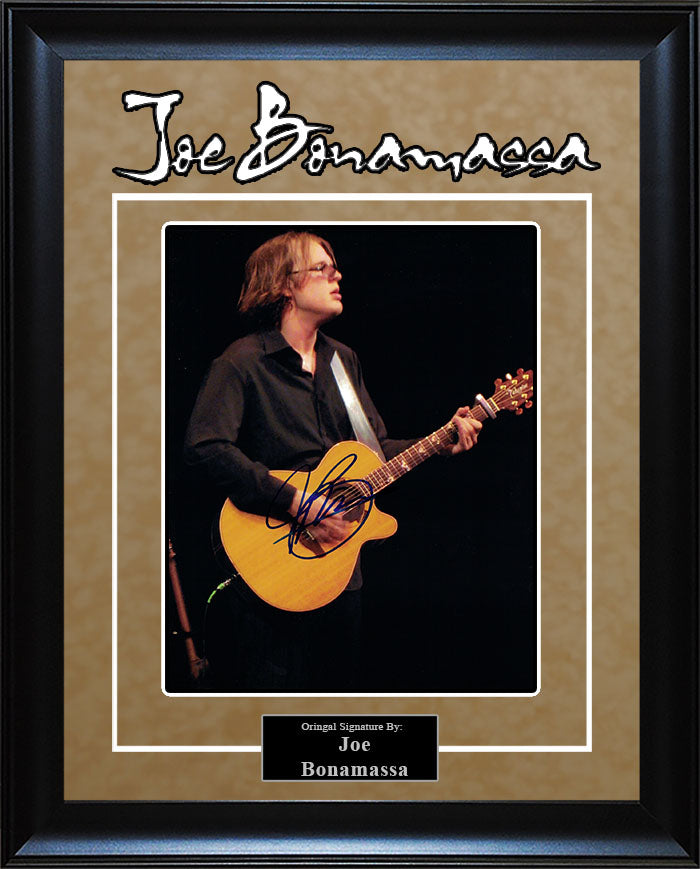 Joe Bonamassa - Signed 8x10 Photo