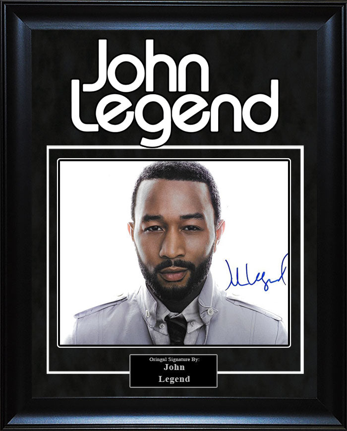 John Legend - Signed 8x10 Photo