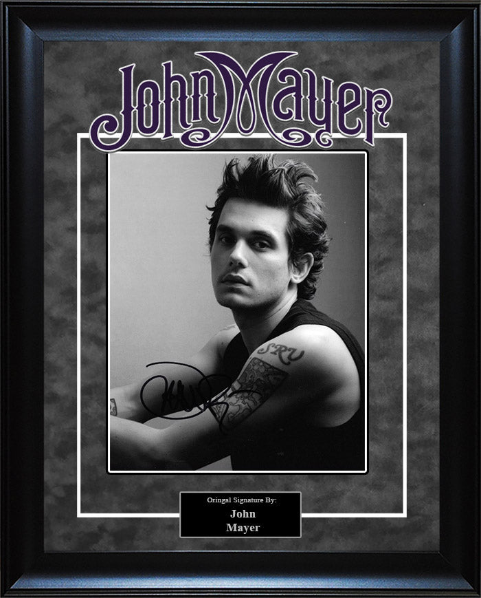 John Mayer - Signed 8x10 Photo