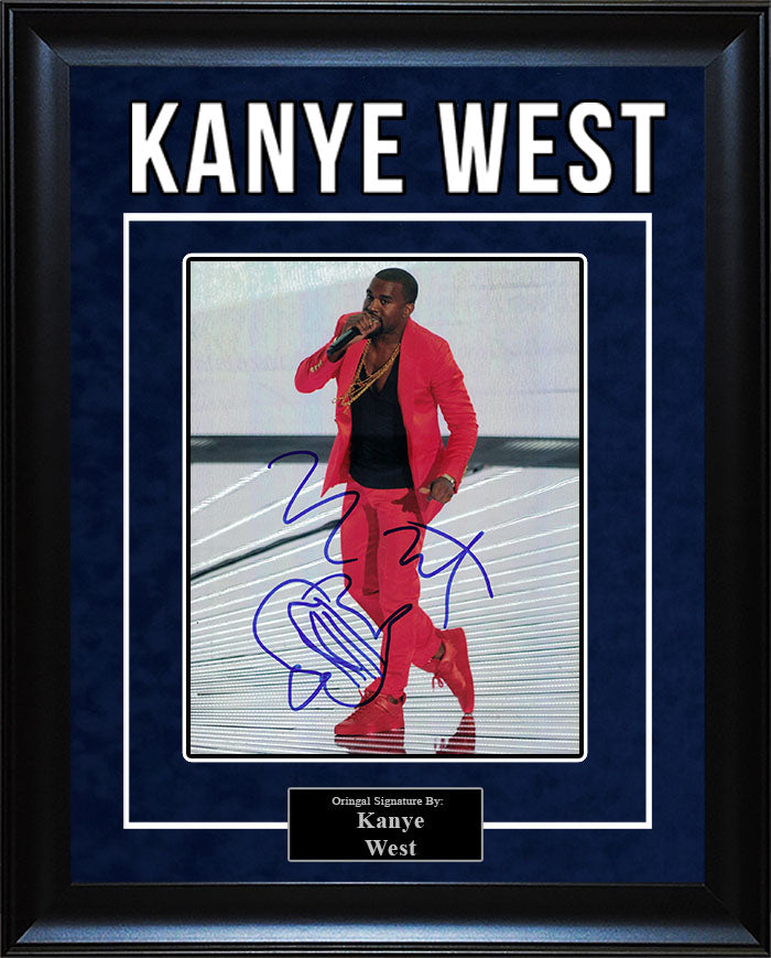 Kanye West - Signed 8x10 Photo