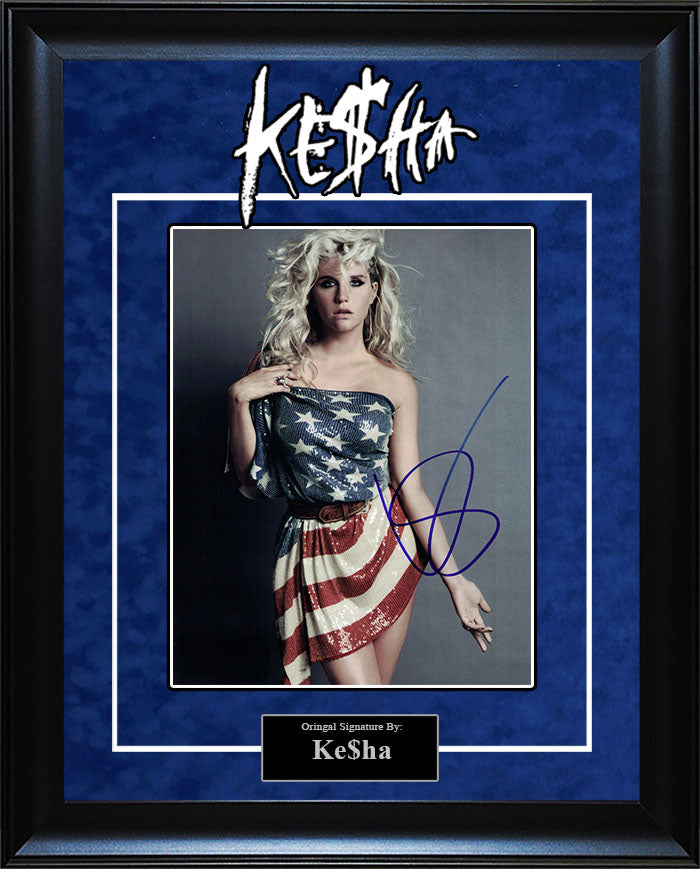 KE$HA - Signed 8x10 Photo