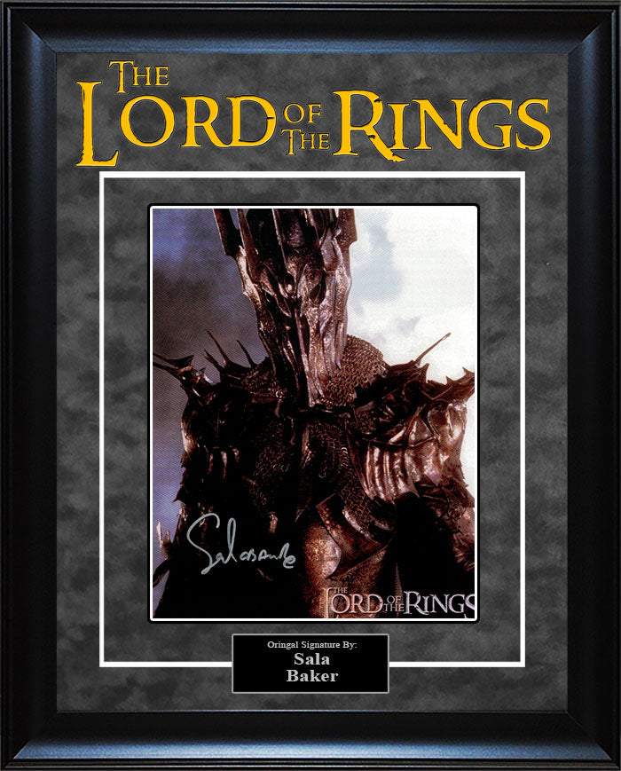 """Lord Of The Rings"" - Sala Baker Signed 8x10 Photo"