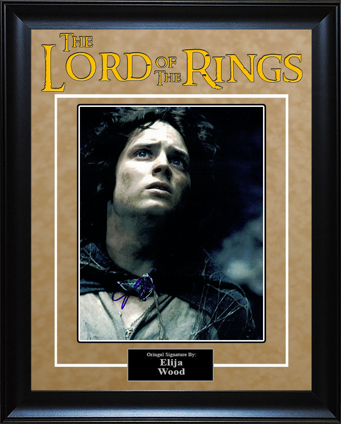 """Lord Of The Rings"" - Elija Wood Signed 8x10 Photo"