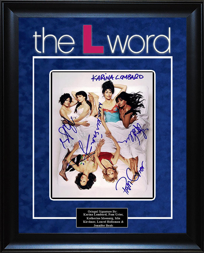 """The L Word"" - Cast Signed 8x10 Photo"