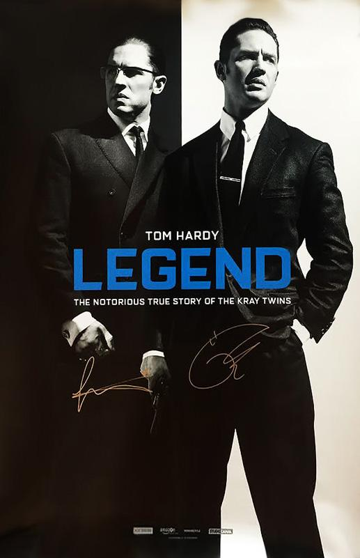 """Legend"" - Signed Movie Poster (Unframed)"