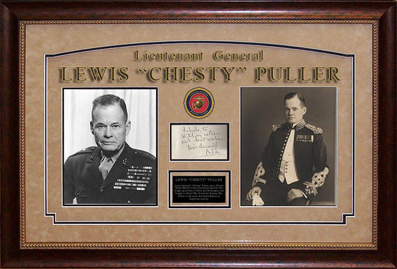 "Lt. General Lewis ""Chesty"" Puller"