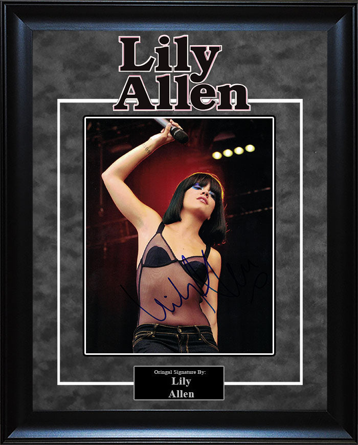 Lily Allen - Signed 8x10 Photo