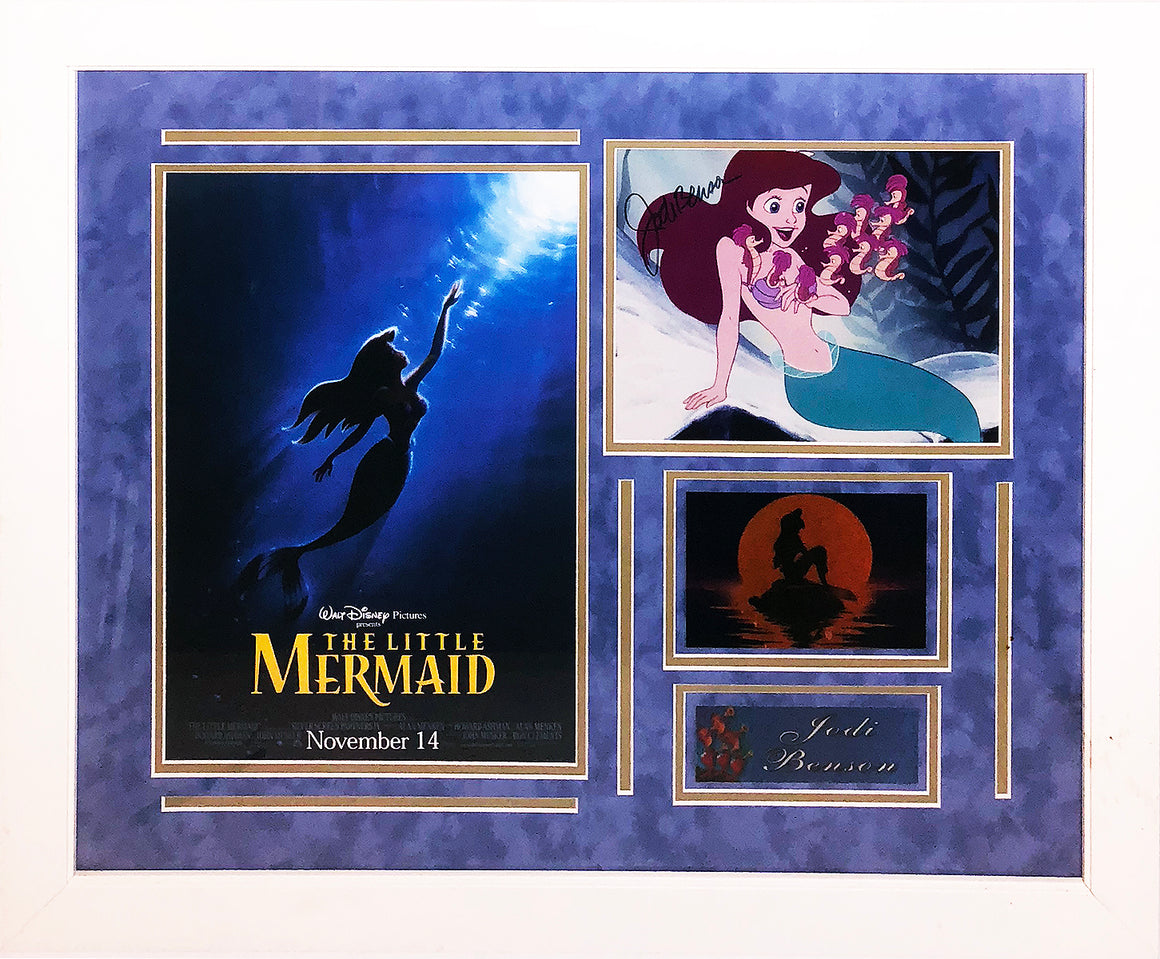 Little Mermaid' Jodi Benson 'Princess Series' 8x10