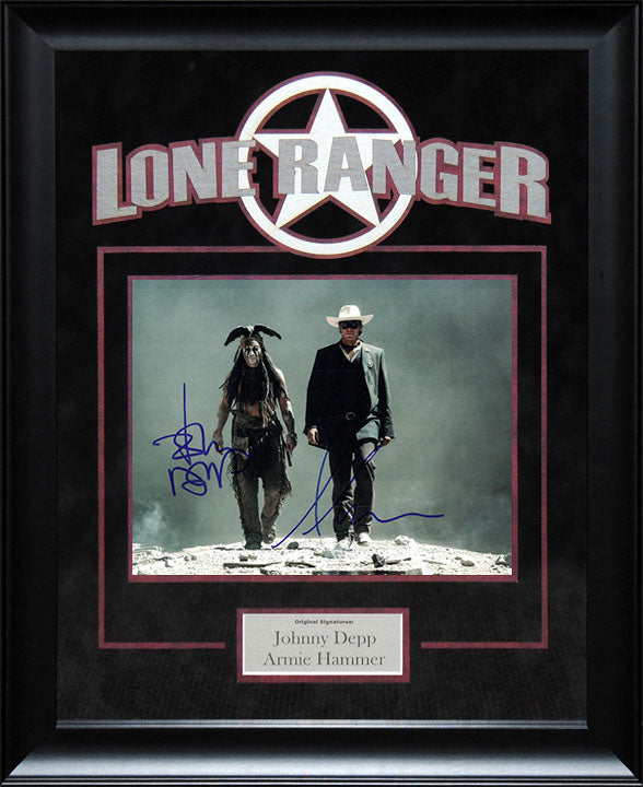 """Lone Rangers"" - Cast Signed 8x10 Photo"