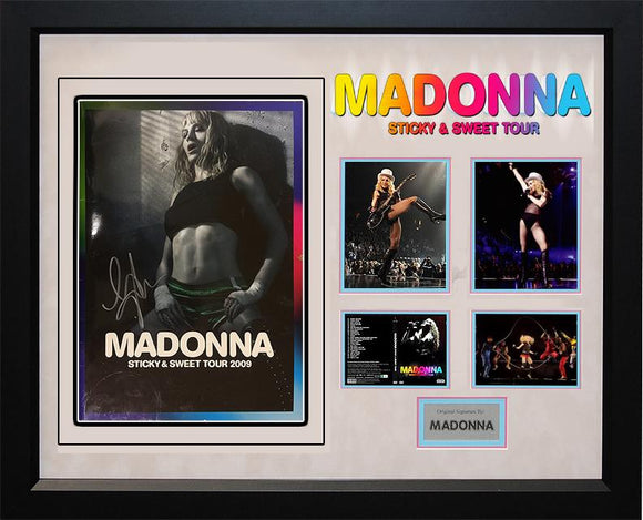 """Madonna"" Sticky & Sweet  Tour Book"