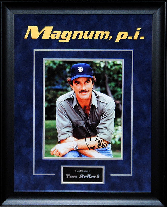 """Magnum PI"" - Tom Selleck Signed 8x10 Photo"