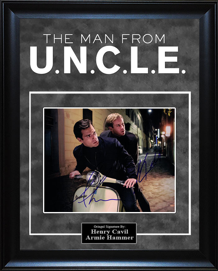 """Man From UNCLE"" - Cast Signed 8x10 Photo"
