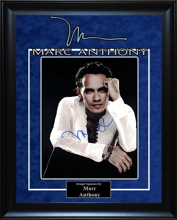 Marc Anthony - Signed 8x10 Photo