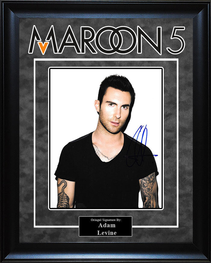 """Maroon 5"" - Adam Levine Signed 8x10 Photo"