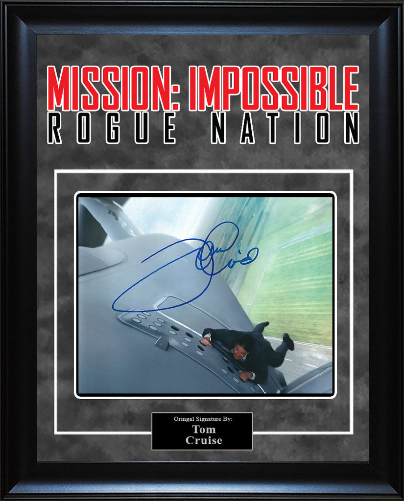 """Mission Impossible: Rogue Nation"" - Tom Cruise Signed 8x10 Photo"