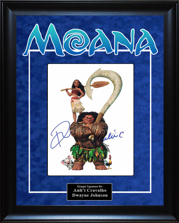 """Moana"" - Cast Signed 8x10 Photo"
