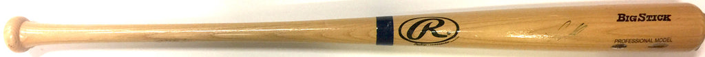 Seattle Mariners - Jesus Montero signed baseball bat