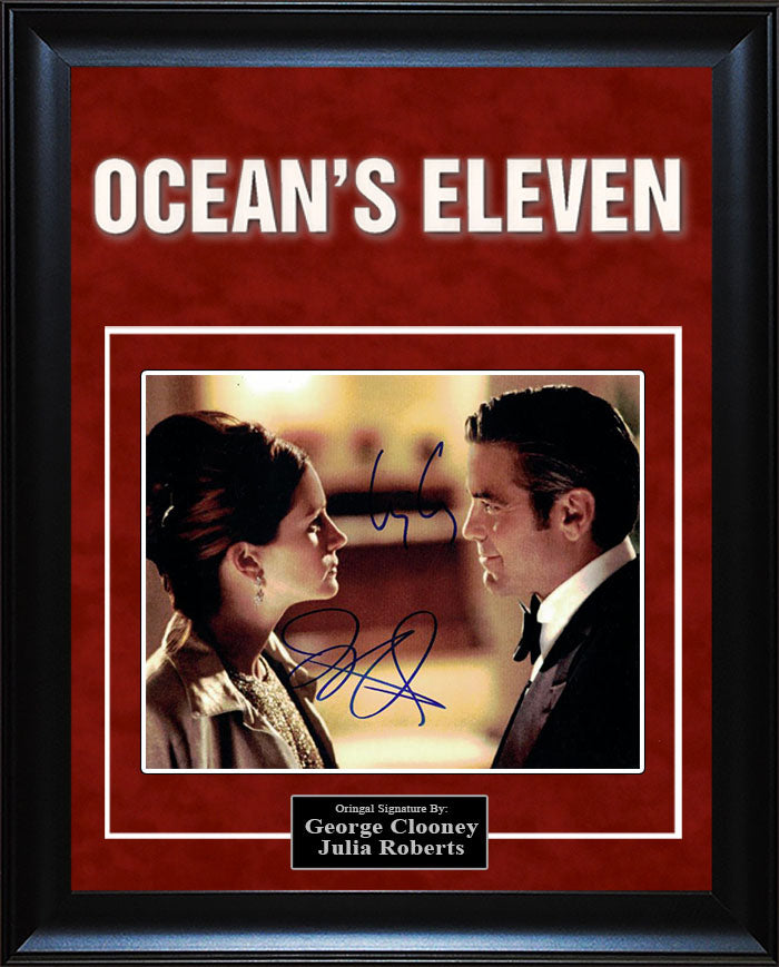 """Ocean's 11"" - Cast Signed 8x10 Photo"