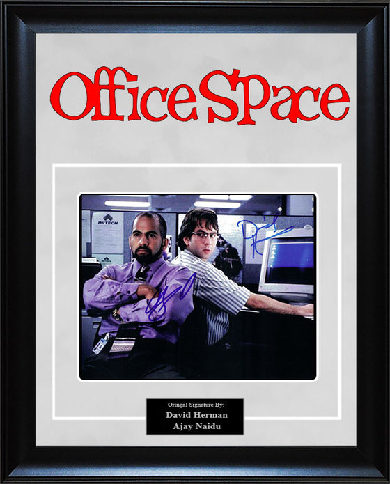 """Office Space"" - Cast Signed 8x10 Photo"
