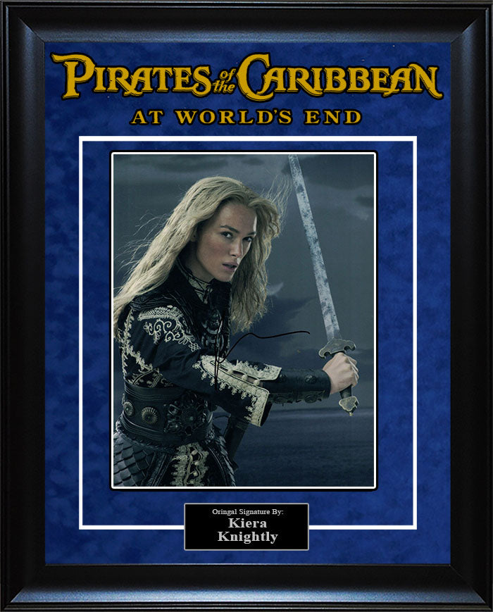 """Pirates of The Caribbean: At World's End"" - Kiera Knightly Signed 8x10 Photo"