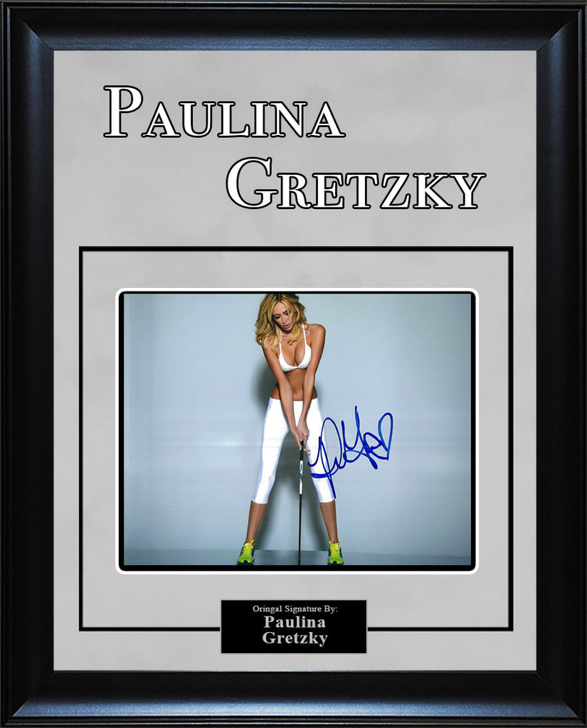 Paulina Gretzky - Signed 8x10 Photo